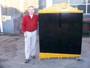 Mining Equipment Cooling Radiator