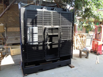Oilfield Drill Cooling Radiator