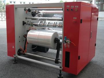 Semi-automatic Four Shaft Slitter Rewinder