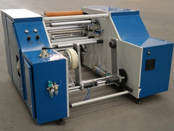 Coreless Food Wrapping Paper Rewinding Machine