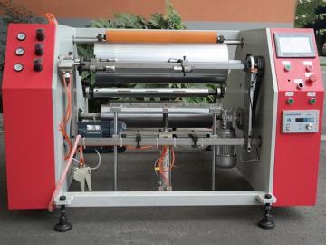 Semi-automatic Aluminum Foil & Cling Film Rewinding Machine