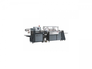 Automatic Book Cover Making and Lining Machine