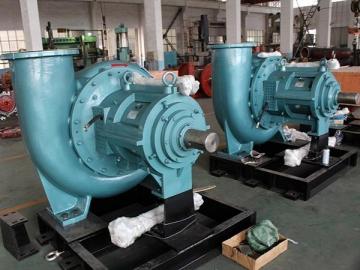 Horizontal Slurry Pump in Flue Gas Desulphurization System