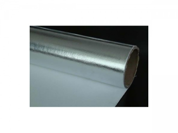 Flame Retardant Aluminized Cotton Fabric