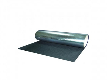 Heat Resistant Aluminized Carbon Fiber Fabric