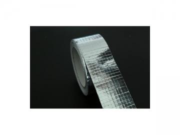 Alumminum foil reinforced fiberglass tape