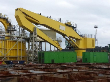 Marine Crane of Offshore Equipment