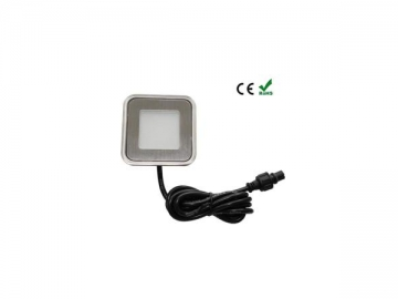 Square Recessed LED Step and Stair Light, Item SC-B102B LED Lighting