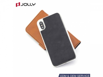 Outside Card Holder iPhone X Case