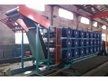 Chain Belt Multilayer Rubber Sheet Cooling Machine