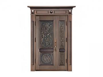 Commercial Copper Exterior Door