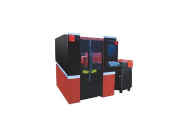 1500W FCCB Medium Power Fiber Laser Cutting System Metal Cutting Machine