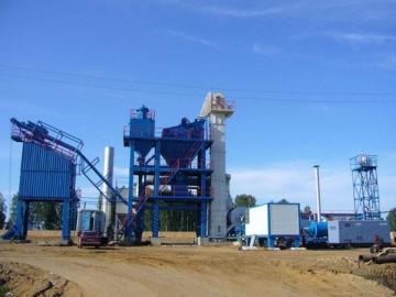 Asphalt Plant 120t/h, Item AMP1500-C 1500kg per batch mixing system