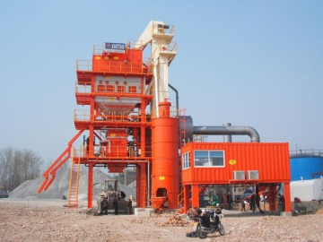 Asphalt Plant 160t/h, Item AMP2000-C 2300kg per batch mixing system