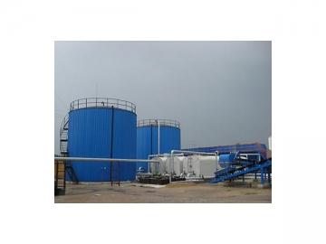 Large Scale Bitumen Storage Silo