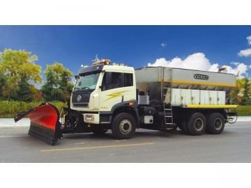 Stainless Steel Salt Spreader Truck