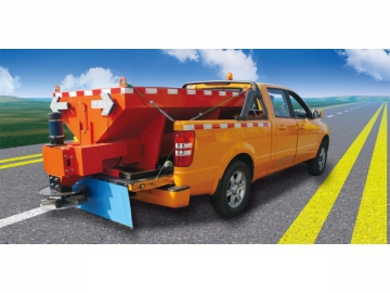 Electric Driven Snow Melt Spreader Truck
