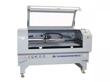 1450×930mm Auto Feeding Large Format Camera Positioning CO2 Laser Cutter, CMA1610-FVET-C Laser Cutting with auto feed system