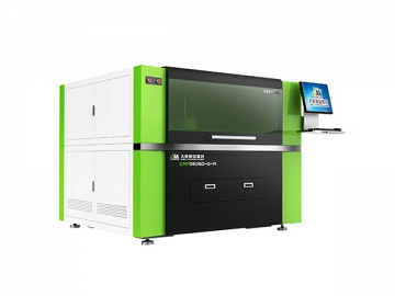 600×600mm Camera Positioning High Precision CO2 Laser Cutting Machine, CMA0606D-GV-A