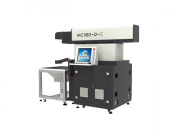 350W Large Format 3-Axial Dynamic CO2 Laser Marking Machine, MC350-D-C Laser Marking System