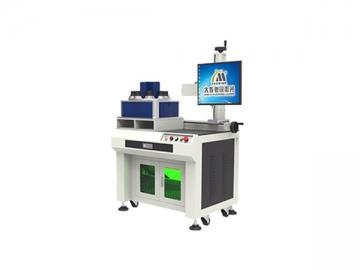 Single Head 8 Position Bulb Fiber Laser Marking Machine, MF20-L-A Bulb Marking