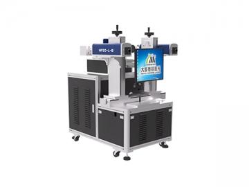 Double Head 8 Position Bulb Fiber Laser Marking Machine, MF20-L-B Bulb Marking