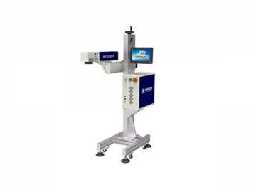 20W Automated Assembly Line Fiber Laser Marking Machine, MF20-B-A Laser Marking System