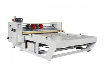Rotary Slotting and Corner Cutting Machine