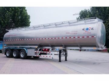 Aluminium Alloy Crude Oil Tank Trailer