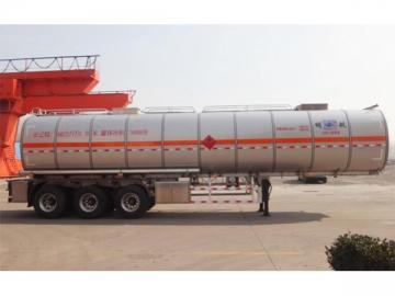 Aluminum Alloy Chemical Tank Trailer