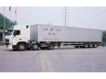 Aluminum Alloy Container Trailer