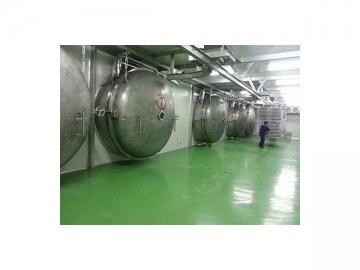 BLK2000kg Industrial Freeze Dryer, Large Capacity Lyophilization Equipment
