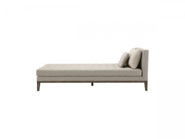 Wood Frame Fabric Sofa Bed
