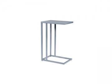 C-Shape Metal Side Table
