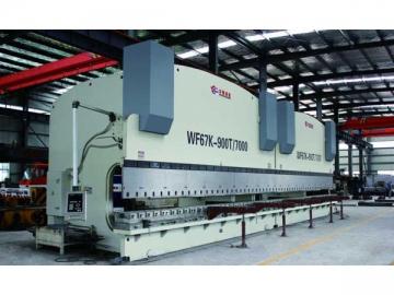 2-WF67K(Y) series CNC Control Bending Press Brake