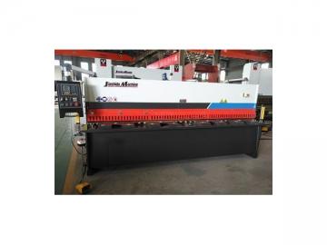 QC12Y Sheet Metal Hydraulic Swing Beam Shear with E21S Controller