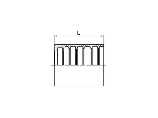 00110 SAE Copper Ferrule for Hydraulic Hose SAE 100 R1AT/EN 853 1SN