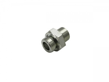 1BG BSP Male 60° Cone Hose Adapter, with O-Ring