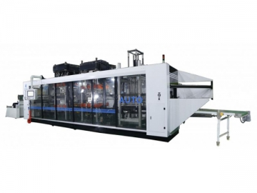DW3 3-Station High Speed Thermoforming Machine
