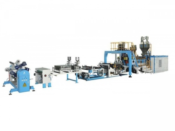 Twin Screw Plastic Extruder (PET Sheet Extrusion)