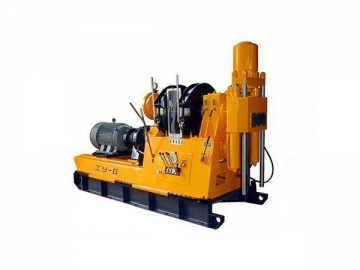 Exploration Core Drilling Rig, Type XY-6