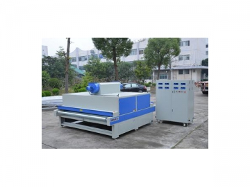 Coating Dryer with Five UV Lamps