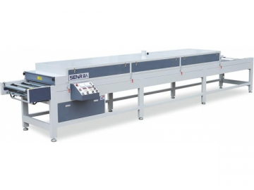 Tunnel Fluid Bed Coating Drying Oven (Infrared Heating)