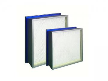 Mini-pleat HEPA Air filters(With Liquid)