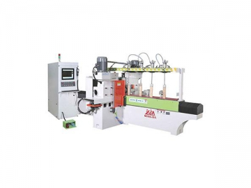 CNC 5 Axis Copying Lathe  Auto Linear Copy Shaping Machines Execute Milling											and Sanding Operations