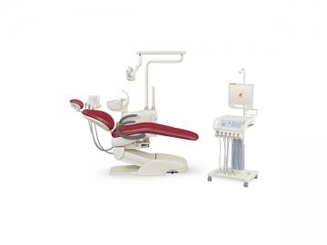HY-E60 Dental Unit  Mobile Cart Version (integrated dental chair, LED light)