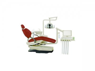 HY-F3 Dental Unit  (integrated dental chair, left handed / right handed operating units)