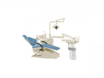 HY-803 Dental Unit  (integrated dental chair, constant temperature water lines, LED light)