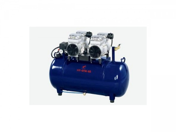 4FW-60 Quiet Dental Air Compressor