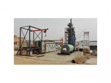 DLT Series Thermal Oil Heating Asphalt Barrel Melter, Bitumen Drum Decanter